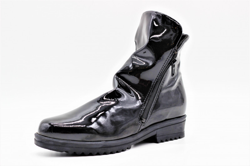 arcus bottine marion vernis noir l 39 empreinte chaussures. Black Bedroom Furniture Sets. Home Design Ideas