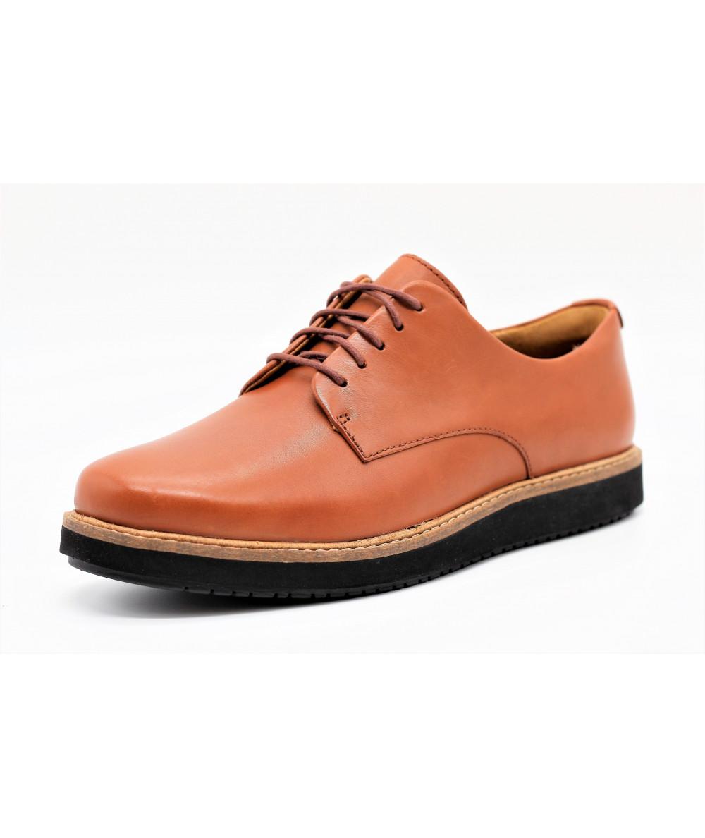 44008b2cb10e6e CLARKS GLICK DARBY MARRON TAN - L'empreinte Chaussures