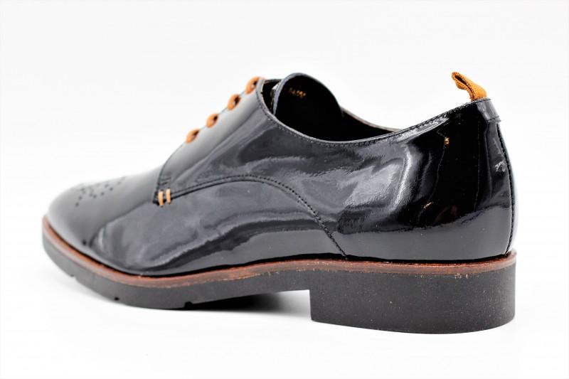 Fil Chaussures Derby L'empreinte Jb Noir Martin Vernis Outgh1zq 2HE9IWYD