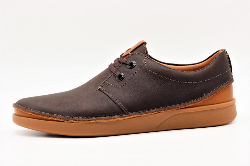 912abd0578e305 CLARKS OAKLAND chaussure casual en cuir pour hommes
