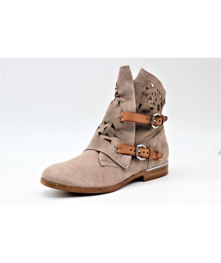 bd3344a2551b9 Chaussures femme - Bottine - L empreinte Chaussures