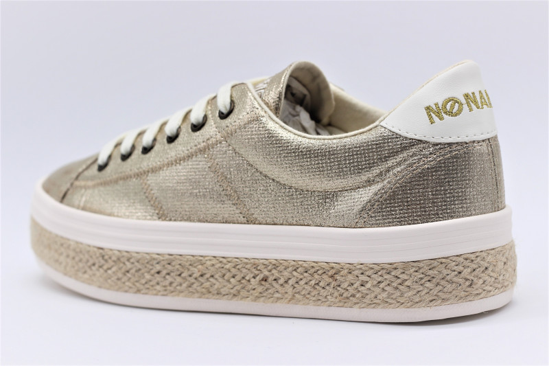 Malibu Femmes Snealers Plato Name Rshqtd Gold No v8N0mnw