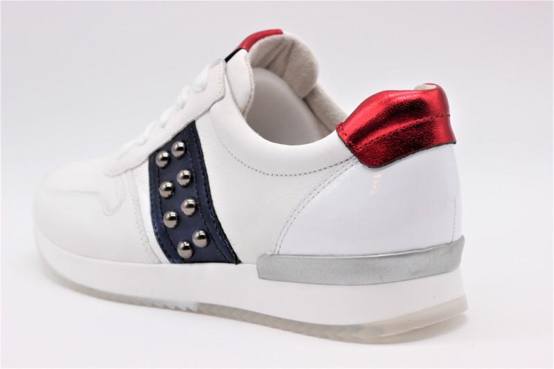 421 En Sneakers Pour Femmes Cuir 24 20 Blanc Gabor 1JTFclK